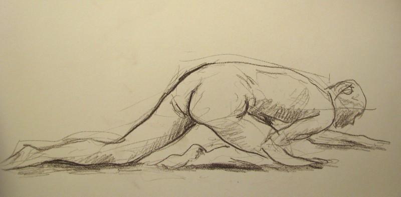 Artistra Fundamentá, Desnudo a gatas, 2006