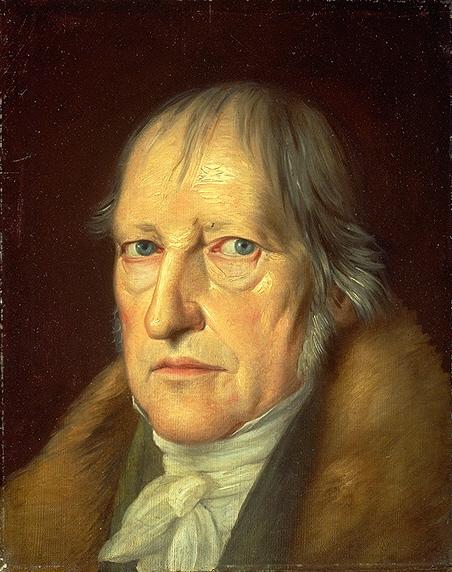 Hegel según Jakob Schlesinger, 1831.